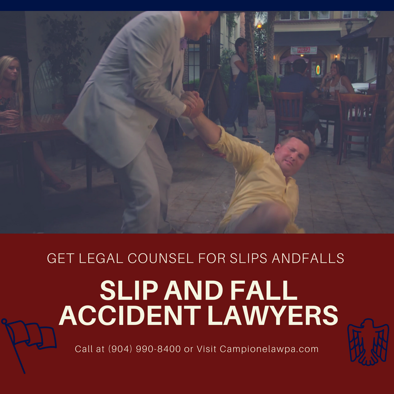 Campione Law P.A. - Slip & Fall - Jacksonville FL Law Firm