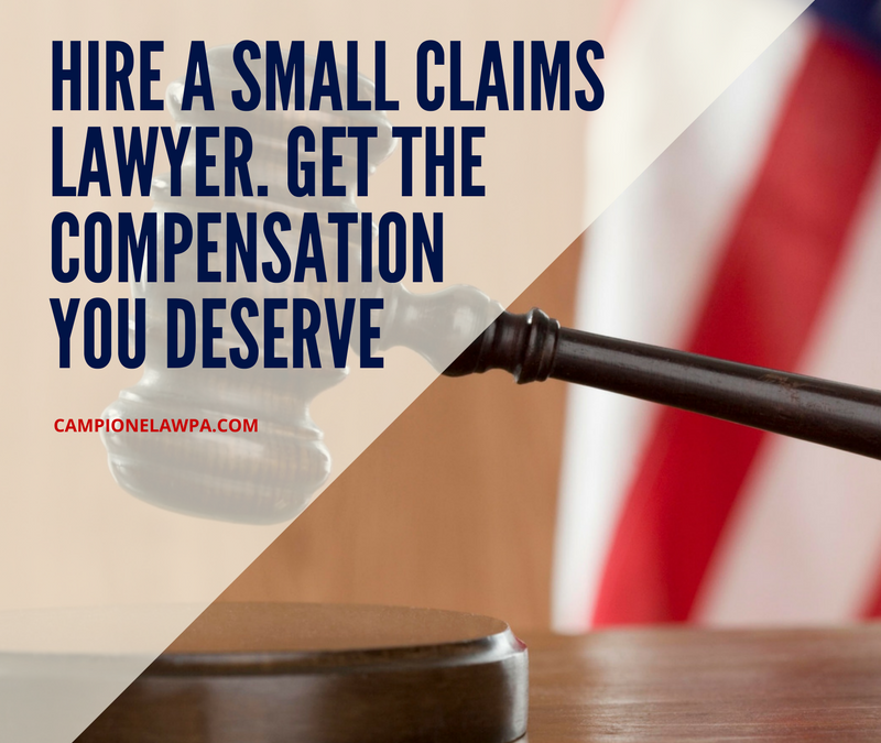 how to prepare for a small claims case
